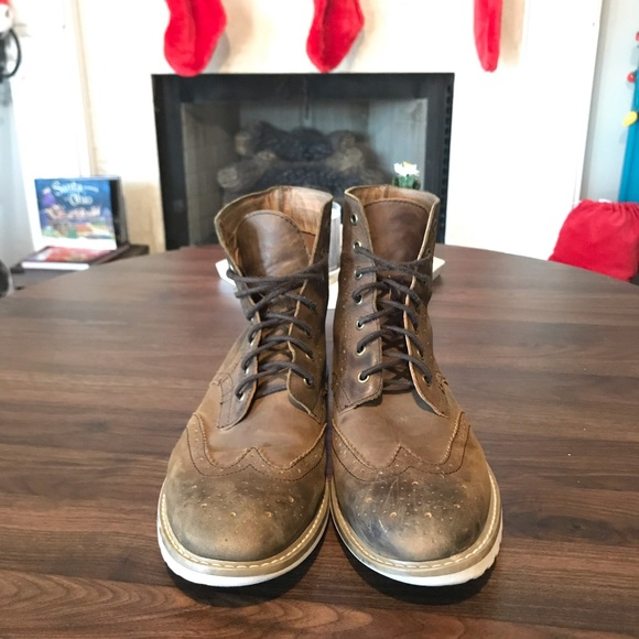 7ecb49be4a8 AEO BROGUE Mens BOOT size 11